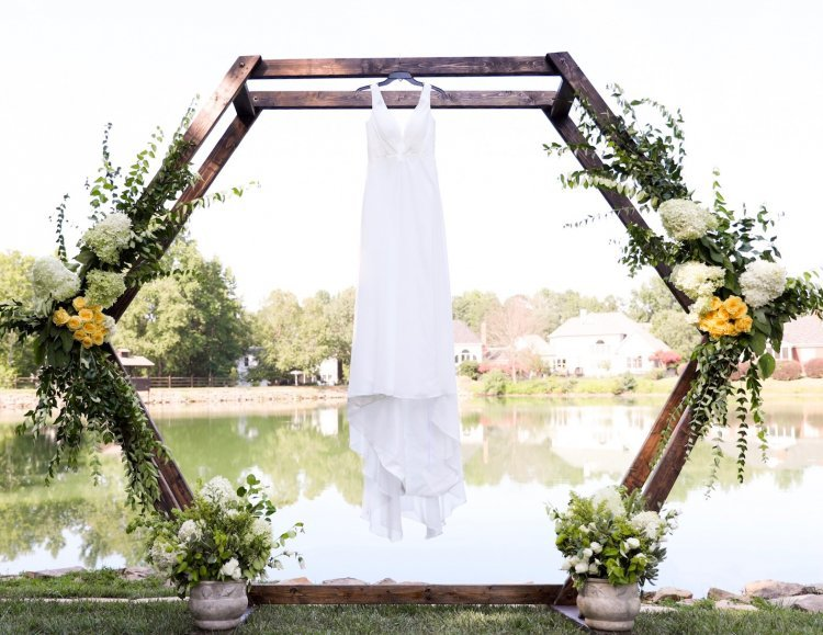 Hexagon Ceremony Arch