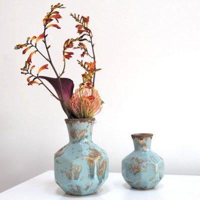 Ceramic Global Blue Vase