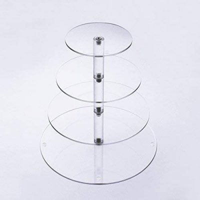 Clear Acrylic Glass Cupcake Stand_2