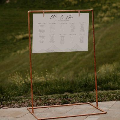 Copper Sign Frame Landscape sq