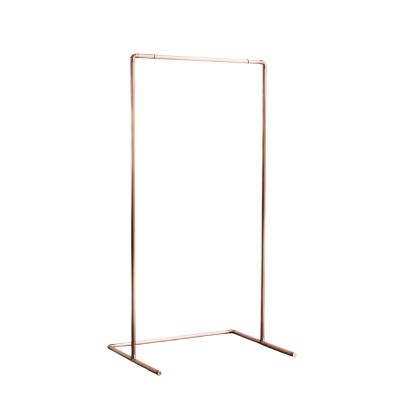 Copper Sign Frame Portrait Clean