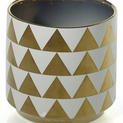 Spade Pot Gold Triangle 4.5x4.5